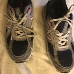 New Balance Gray Shoes Men